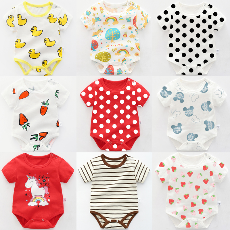 Set Of 9 Rompers /Baby Girl Clothing